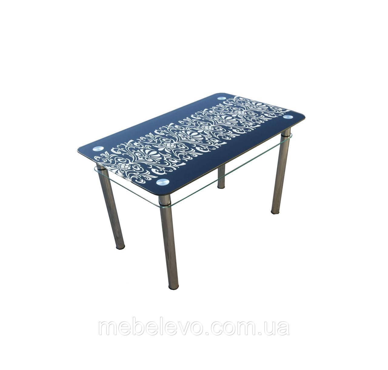 f73ac274b стол стеклянный Орнамент 750х1100х650мм Sentenzo, цена 3 601 грн., купить в  Днепре — Prom.ua (ID#606818790)