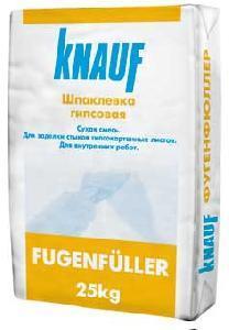 Фугенфюллер Кнауф  25 кг Шпаклевка Гипсовая
