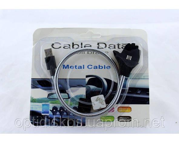 Кабель/держатель металлический, ладонь, USB type C, фото 2