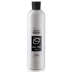 Nail Prep 3-в-1 GGA Professional Обезжириватель, Снятие липкости и Антисептик 500 мл