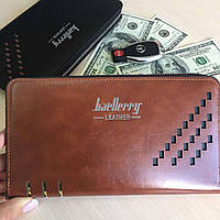Портмоне мужское Baellerry Leather 2.0 Коричневый