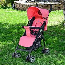 Детская коляска-трость Bambi (M 3458-3) с пятиточечными ремнями безопасности, фото 3