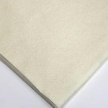 Фетр мягкий №3 экрю, лист 30х20 см, 1,3 мм (Тайвань)