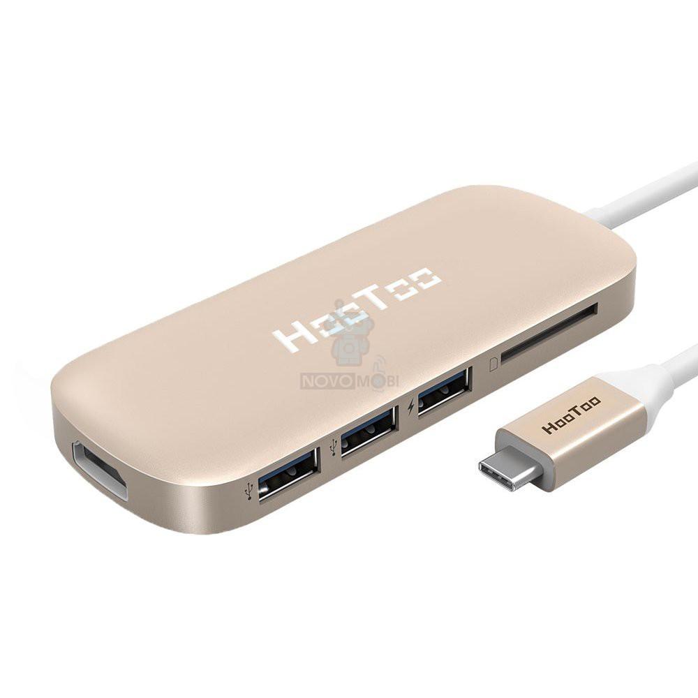 Мультиадаптер для MacBook с USB-C разъемом, HooToo USB-C Hub HDMI/2xUS