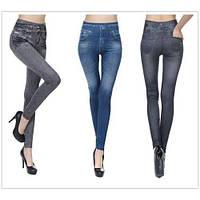 Утягивающие джеггинсы Slim N Lift Caresse лосины Джинсы Jeans Blue XXL/XXXL
