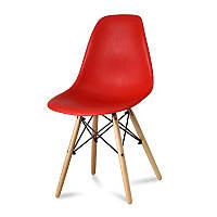 Кресло стул для кухни столовой Paris, красное