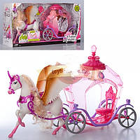 Карета с лошадью Пегас детский игровой набор 83264