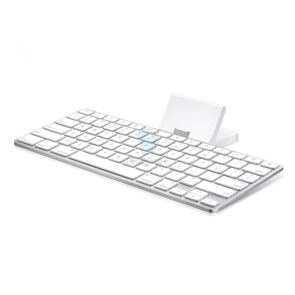 Оригинальная док-станция с алюминиевой клавиатрутой для iPad с 30-pin