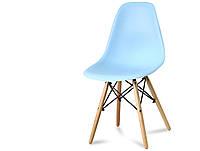 Кресло стул для кухни столовой Paris, голубое
