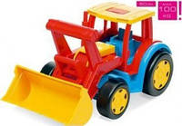 Большой игрушечный трактор Гигант с ковшом (66000)