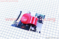 Лепесток рукоятки газа на мототехнику красный на скутер Viper Storm