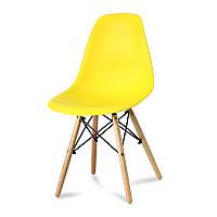 Кресло стул для кухни столовой Paris, желтое