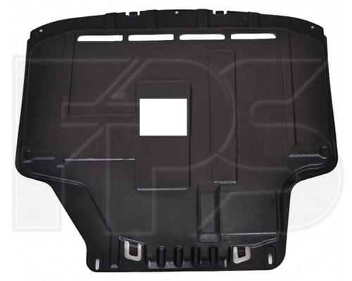Защита двигателя Ford Fiesta 09-13 - войлок