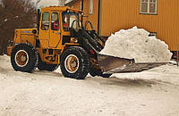 Вывоз снега круглосуточно в Киеве и Киевской области