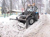 Аренда трактора для уборки снега