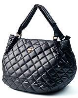 Женская сумка стеганая тканевая