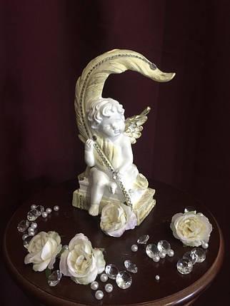 Ангел С пером пастель, фото 2