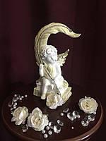 Ангел С пером пастель