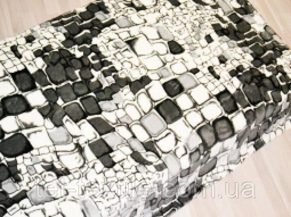 "Плед из микрофибры ""Камни серые"" (200х220), фото 2"