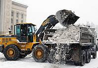 Погрузка и вывоз снега из площадок
