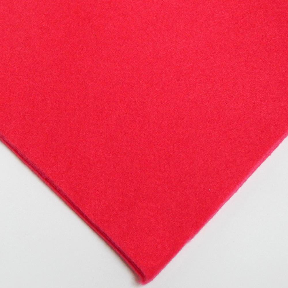 Фетр мягкий №27 малиновый, лист 30х20 см, 1,5 мм (Тайвань)