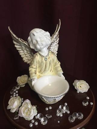 Ангел С чашей, пастель, фото 2