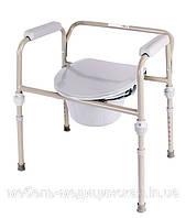 Стул туалет для инвалидов со съемными ножками