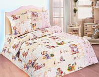 Постельное белье для малышей в кроватку поплин Машенька