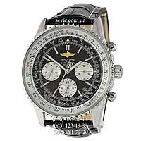 Часы наручные Breitling Silver-White-Black CL (реплика)