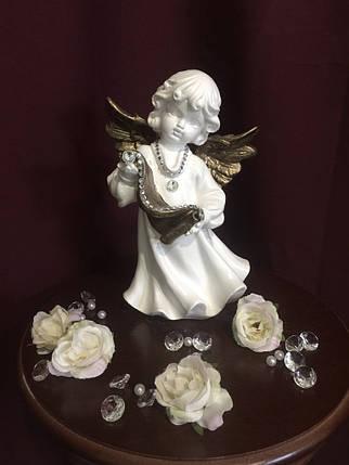 Ангел Со свитком, золото, фото 2