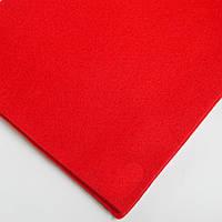 Фетр мягкий №33 красный, лист 30х20 см, 1,5 мм (Тайвань)