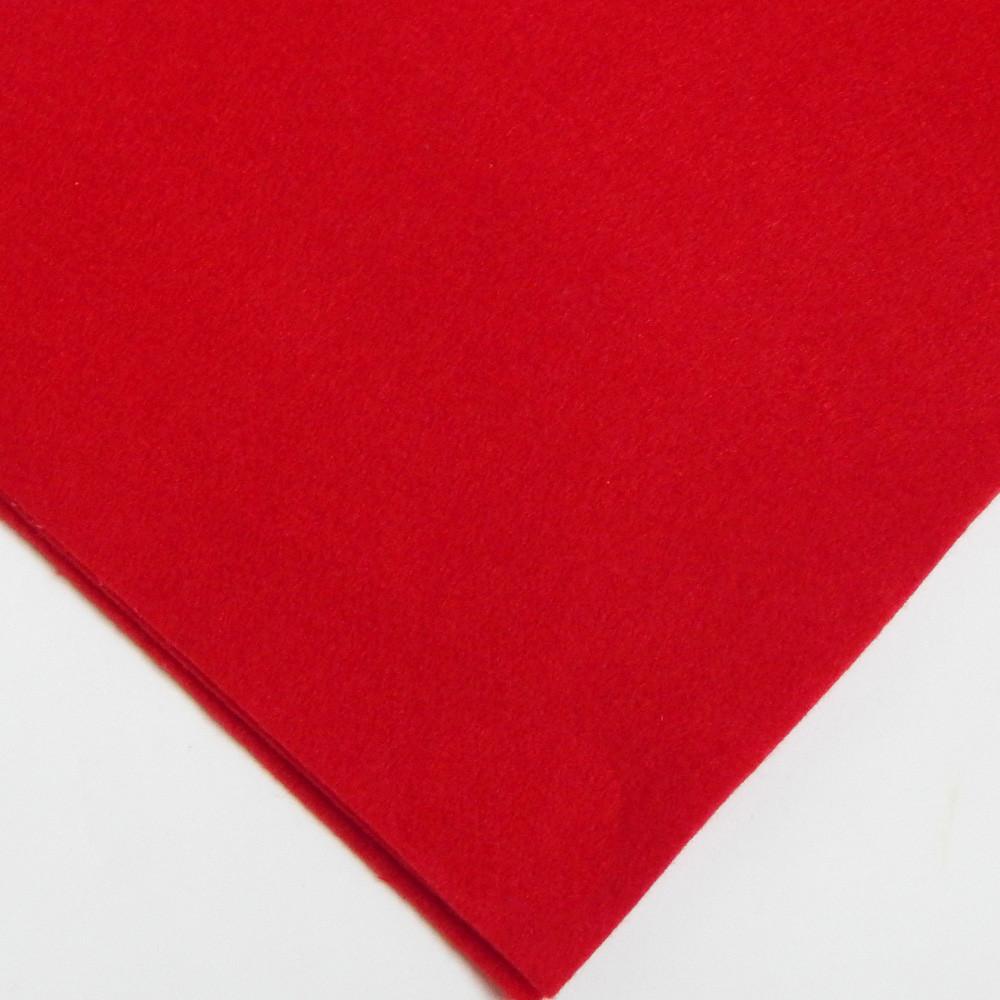 Фетр мягкий №35 темно-красный, лист 30х20 см, 1,5 мм (Тайвань)
