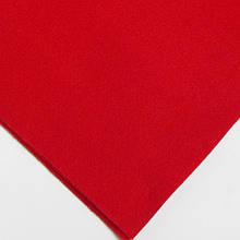Фетр мягкий №35 темно-красный, лист 30х20 см, 1,3 мм (Тайвань)