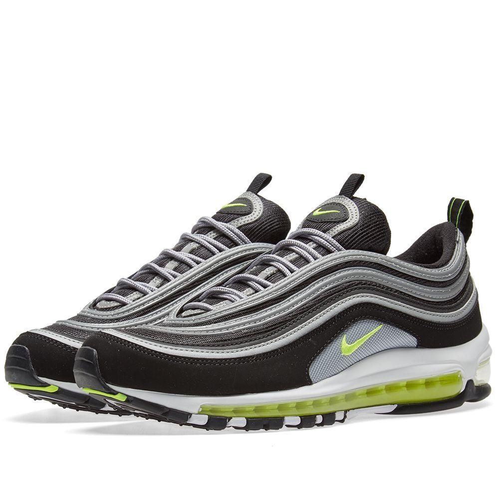 5e7534bd Оригинальные кроссовки NIKE AIR MAX 97 JAPAN OG BLACK, VOLT -  Sport-Sneakers -
