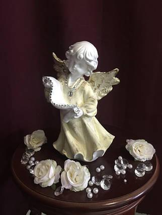 Ангел Со свитком, пастель, фото 2