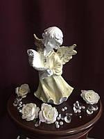 Ангел Со свитком, пастель
