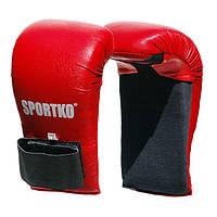 Накладки для карате Sportko НК-2 размер L красные