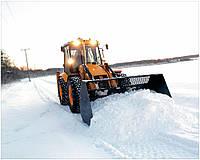 Уборка снега и вывоз снега и льда