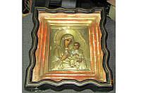 Старинная икона Иверской Богородицы