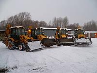 Вывоз снега и зимняя уборка территории