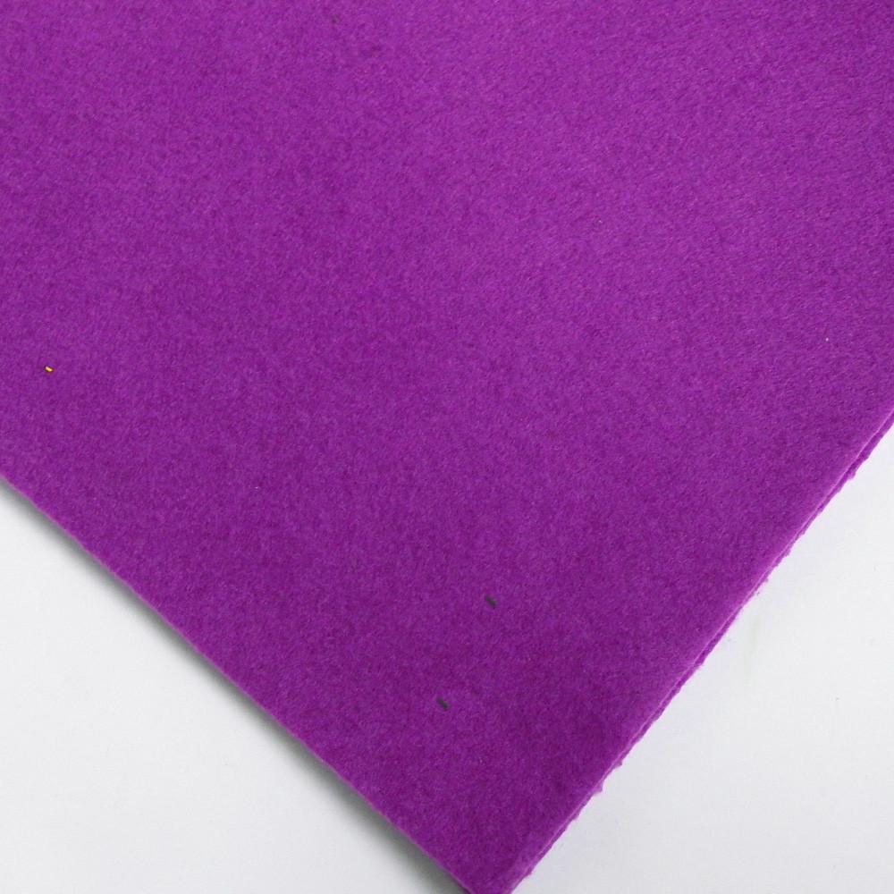 Фетр мягкий №38 фиолетовый, лист 30х20 см, 1,5 мм (Тайвань)