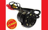 Универсальная камера заднего вида для авто с подсветкой в бампер. Хорошее качество. Доступная цена Код: КГ2345