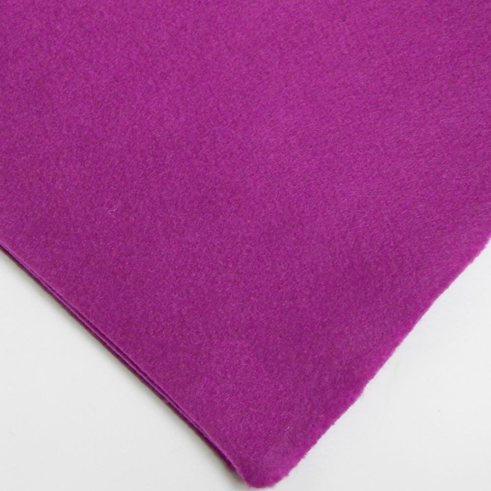 Фетр мягкий №39 пурпурный, лист 30х20 см, 1,5 мм (Тайвань)