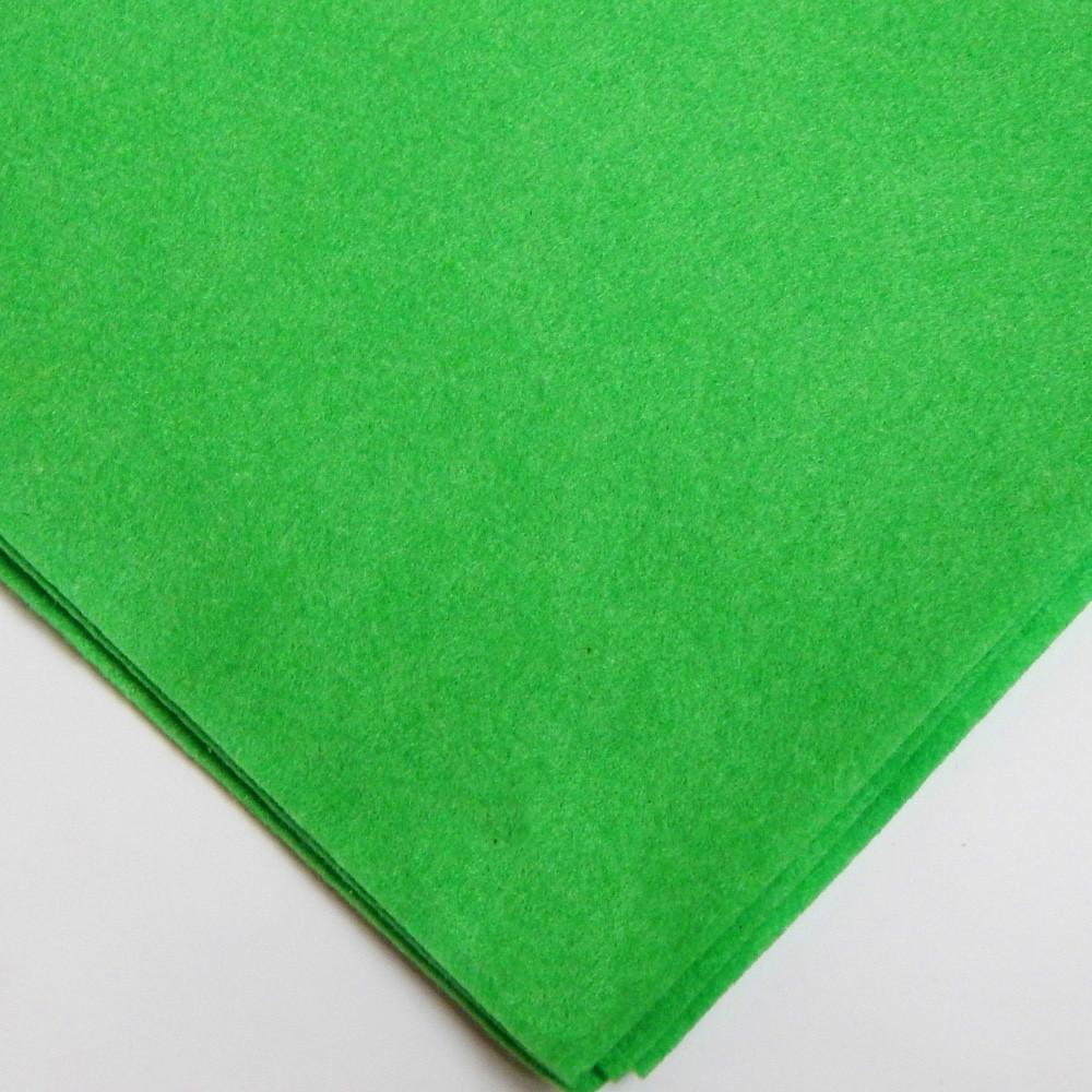 Фетр мягкий №41 св-зеленый, лист 30х20 см, 1,5 мм (Тайвань)