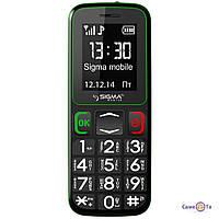 Мобільний телефон Sigma mobile Comfort 50 Бабушкофон, 1000483, мобільний телефон для літніх людей, стільниковий телефон