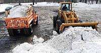 Уборка снега с авто вывозом, убрать снег, чистка снега техникой