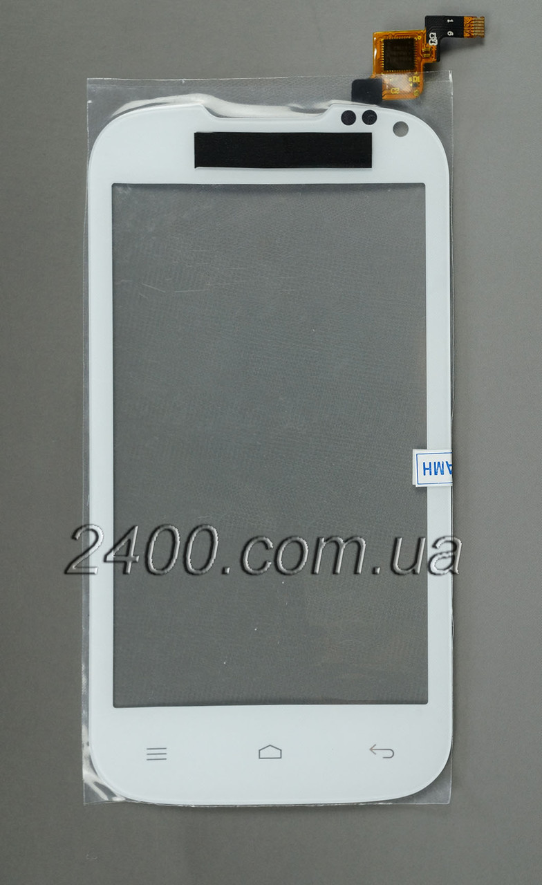 Touchscreen для телефонів Nomi i401 Colt - тачскрін (сенсор) Nomi i401 Colt (Номі i 401) білий (white)