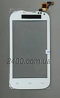 Тачскрин для телефона Nomi i401 Colt сенсор белый
