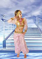 Маскарадно карнавальные костюмы - Восточная красавица розовая