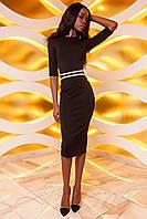 Платье Богемия шоколад, фото 1